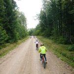 Dabas pulciņa velopārgājiens no Tūjas uz Meleku kempingu 16.09.2017.