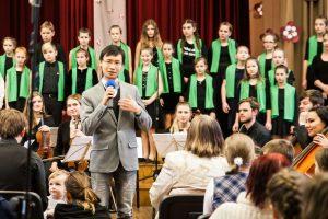 Latvijas Republikas proklamēšanas 99.gadadienai veltītais koncerts Rīgas Kristīgajā vidusskolā 17.11.2017.