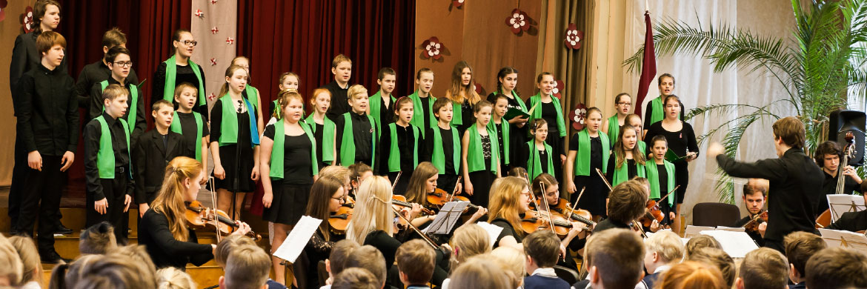 Galerija: Latvijas 99.dzimšanas dienas koncerts