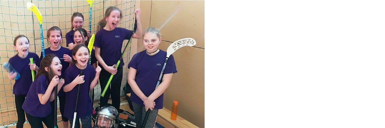Meiteņu florbola komanda iegūst 3.vietu Latgales priekšpilsētā