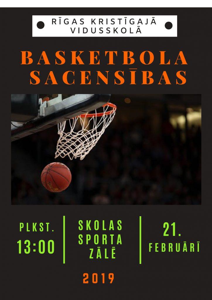 Rīgas Kristīgās vidusskolas basketbola turnīrs 2019