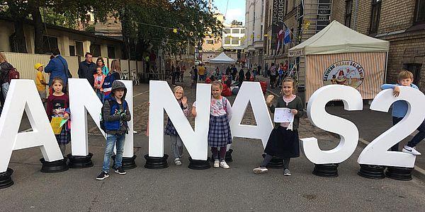 3.klase piedalās Annas ielas svētkos