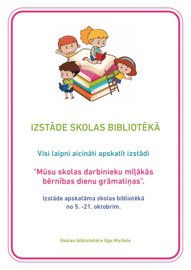 Izstāde bibliotēkā