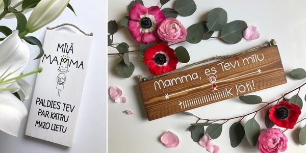 Jotas idejas Mātes dienai