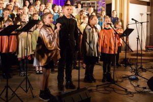 Rīgas Kristīgās vidusskolas Ziemassvētku koncerts 2017