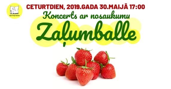 Aicinām uz koncertu Zaļumballe